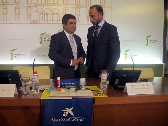 Francisco Reyes y Miguel Serrano han presentado la campaña [Tú] Material Estrella.