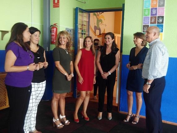 Ana Cobo preside el acto de inauguración del curso de las escuelas infantiles de la provincia de Jaén.