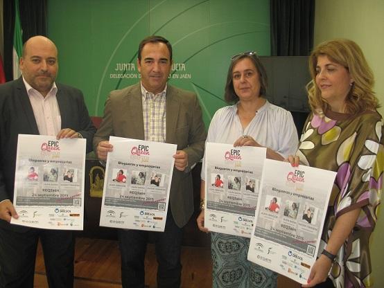 Acto de presentación del I Encuentro de Blogueras y Empresarias de Jaén.