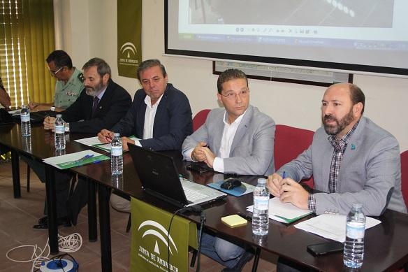 Reunión para coordinar todo lo referente a la prevención del furtivismo en la caza.,