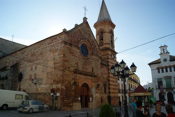 Parroquia de la Nuestra Señora de la Paz, en Marmolejo.