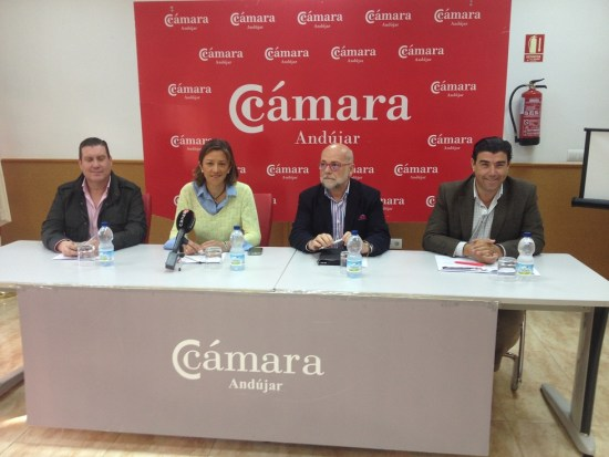 Acto de presentación de la quinta edición de Andújar Shopping Night.