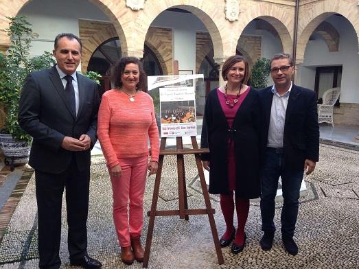Acto de presentación de este concierto de la Orquesta Ciudad de Granada.