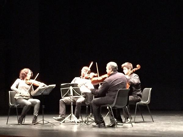 Un instante de este magnífico concierto celebrado en Andújar.