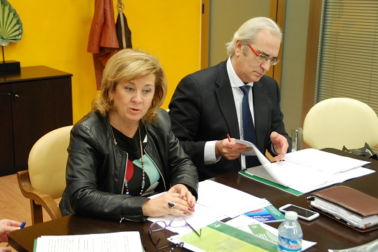 La delegada territorial de la Consejería de Igualdad, Salud y Políticas Sociales, Teresa Vega.