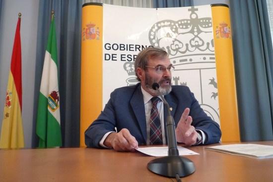 El subdelegado del Gobierno en Jaén, Juan Lillo.