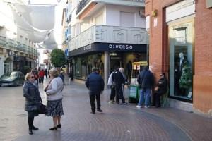Calle comercial en Andújar.