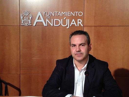 El concejal de Presidencia del Ayuntamiento de Andújar, Jesús del Moral.
