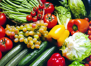 Frutas y hortalizas. Foto: Junta Andalucía.