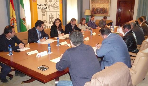 Reunión de la la Comisión Provincial de Seguimiento del Acuerdo para el Empleo y la Protección Social Agrarios.