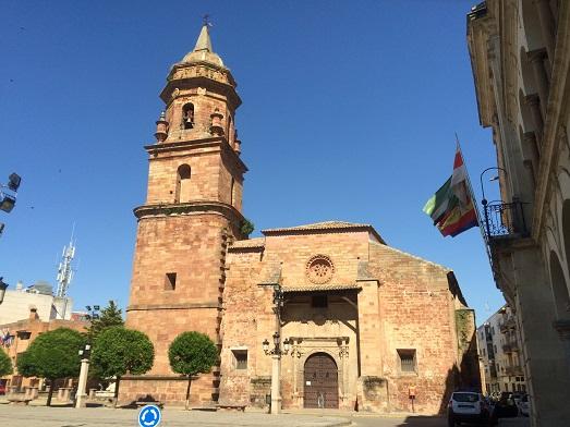 Turismo: Iglesia de San Miguel, en Andújar.