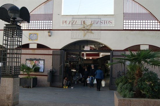 Plaza de Abastos, en Andújar.