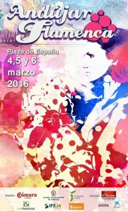 Cartel de Andújar Flamenca 2016.