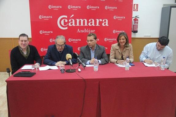 Las autoridades hacen balance del reciente desarrollo de la quinta edición de Andújar Flamenca.