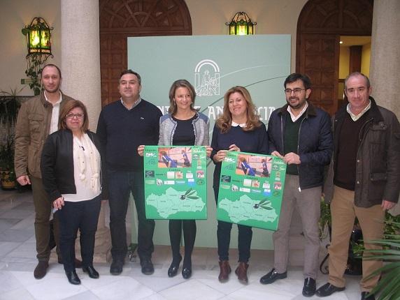 Acto de presentación del Campeonato de Andalucía de Bádminton Sub- 15 y Sub-19, que se celebrará en Arjonilla.