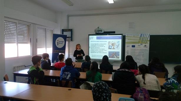 La Oficina Europe Direct Andújar coordina esta actividad que está dirigida a los alumnos de 4º curso de la ESO.