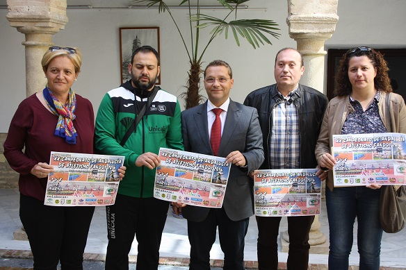 Acto de presentación del XX Campeonato de Andalucía para personas con discapacidad intelectual.