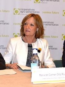 La consejera de Agricultura, Carmen Ortiz. Foto: Junta de Andalucía.