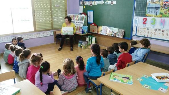 Actividad realizada en Andújar por el Día del Libro Infantil y Juvenil.