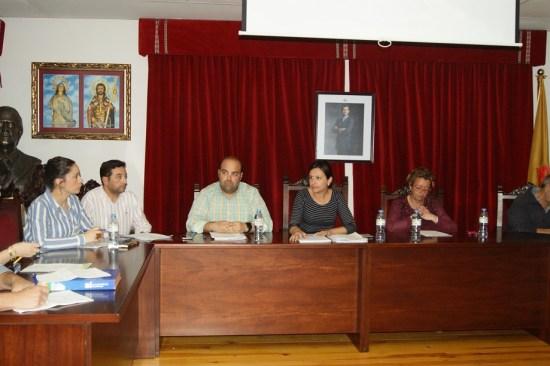 Concejales del PSOE en el Ayuntamiento de Lopera.