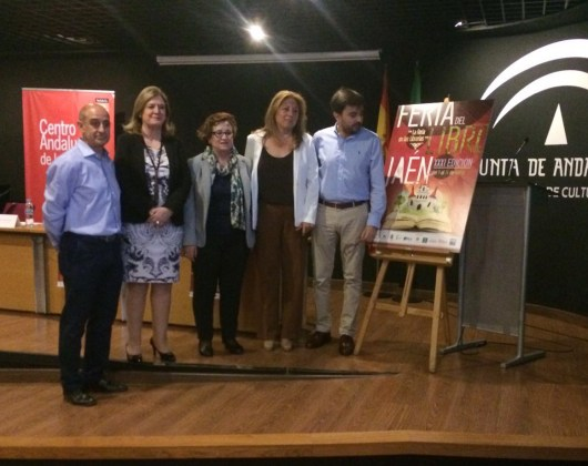Acto de presentación de la Feria del Libro de Jaén.