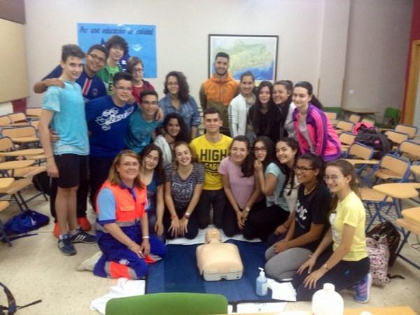 Primeros auxilios en Andújar-2 (mayo-16)