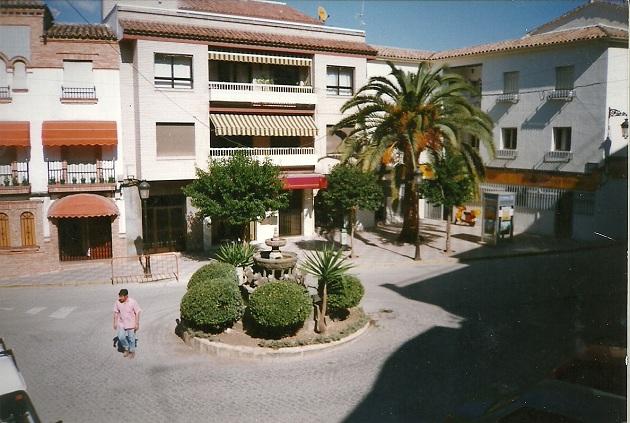 Una calle céntrica de Arjona.