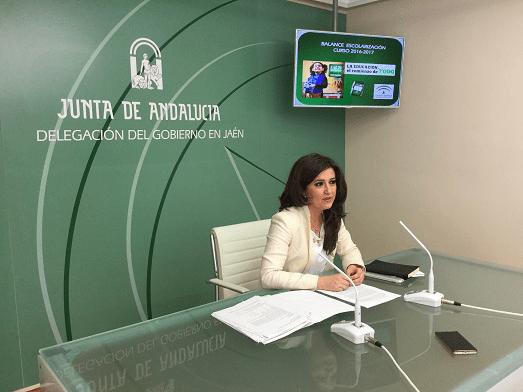 La delegada territorial de Educación, Yolanda Caballero.