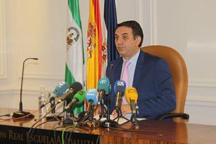 El consejero de Turismo, Francisco Javier Fernández. Foto: Junta de Andalucía.
