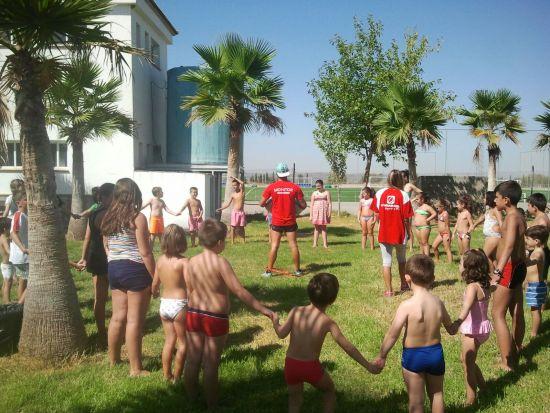 Participantes en la Escuela de Verano de Arjona.