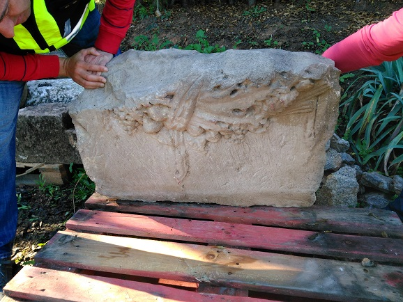 Uno de los restos arqueológicos encontrados por la Policía adscrita a la Junta.