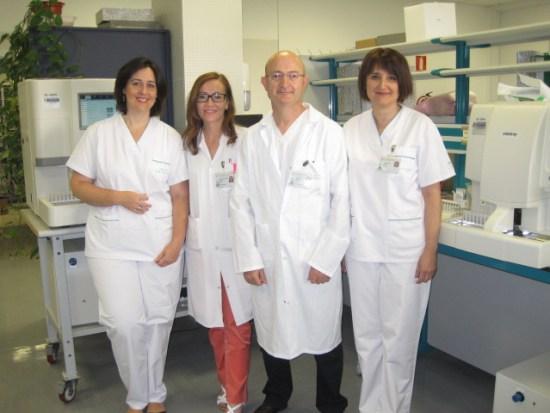 Algunos profesionales de la Agencia Sanitaria Alto Guadalquivir que han sido premiados.