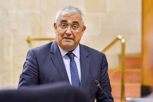 Ramírez de Arellano, durante la sesión plenaria. Foto: Junta de Andalucía.
