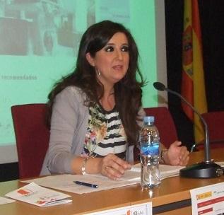 La delegada territorial de Educación, Yolanda Caballero. Foto: Junta de Andalucía.