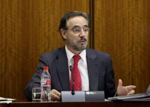 El Consejero de Fomento, Felipe López. Foto: Junta de Andalucía.