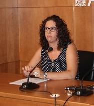 La concejala de Juventud, Nuria Rodríguez.