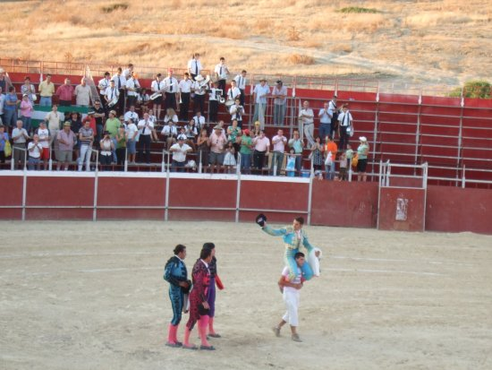 Festejo taurino celebrado en Lopera.