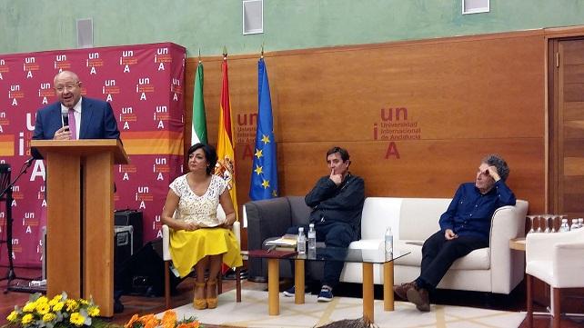 Acto de inauguración de los Cursos de Verano 2016 de la Universidad Internacional de Andalucía (UNIA).
