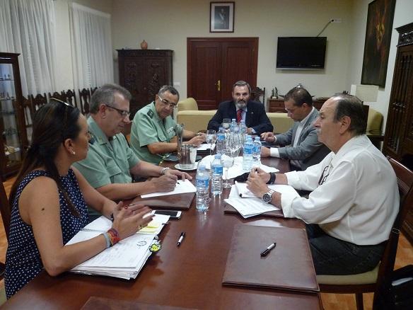 Reunión de coordinación para la Romería de Octubre de Andújar.