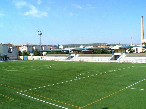 Campo de fútbol de Andújar. Foto: Ayuntamiento de Andújar.