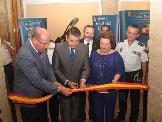 """Inauguración de la exposición """"La Victoria de la Libertad""""."""
