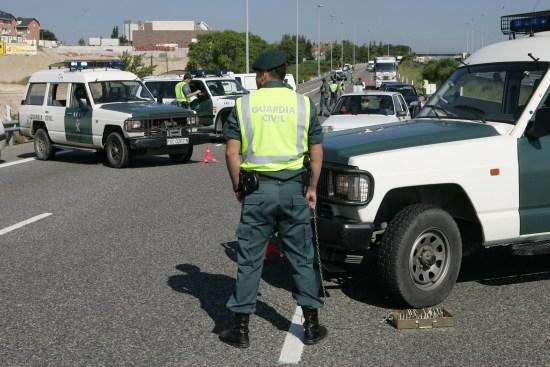 La Guardia Civil interviene en una operación. Foto: Guardia Civil.