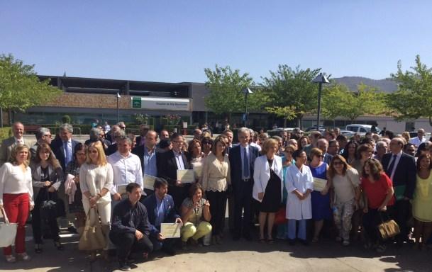 Alonso asistió al acto de 30 aniversario de la atención primaria en Andalucía.