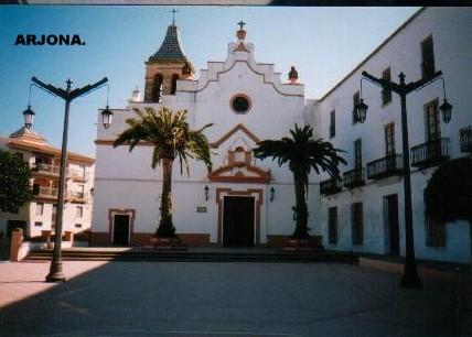 Una imagen del casco histórico de Arjona.