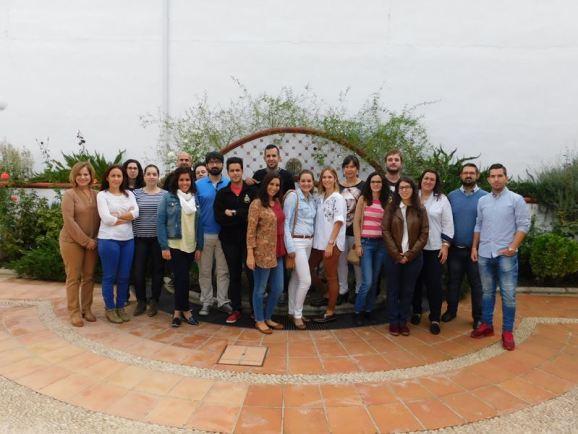 El equipo de la lanzadera está constituido por 20 personas de Andújar.