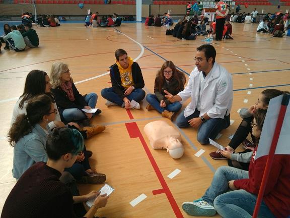 Profesionales del Hospital Alto Guadalquivir de Andújar participaron en estas jornadas.