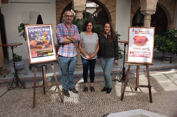 La concejala de Cultura, María José Bueno, asistió al acto de presentación de estas funciones.