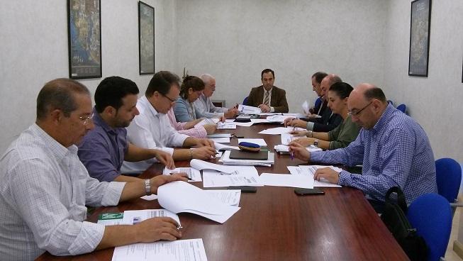 Reunión de la Comisión Provincial de Prevención de Riesgos Laborales.
