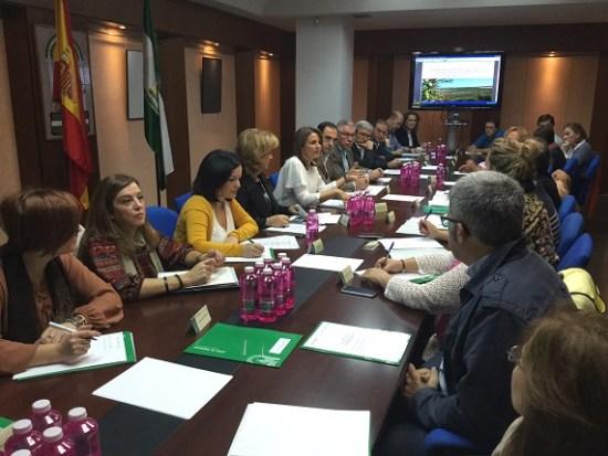 Ana Cobo ha presidido la reunión del Foro Provincial de la Inmigración.