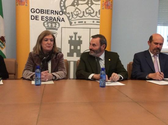 El subdelegado del Gobierno en Jaén, Juan Lillo, en su despedida del cargo.